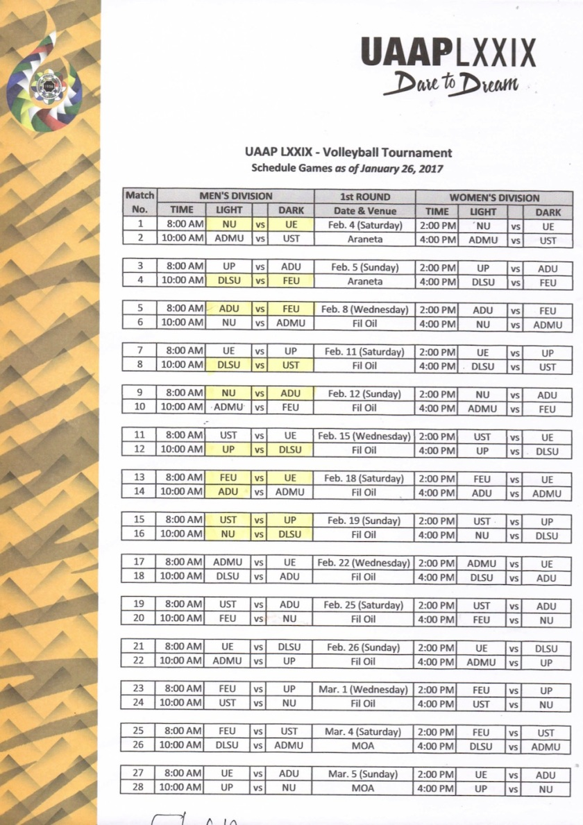 uaap-volleyball-schedule