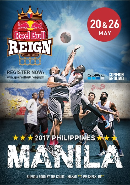 RB REIGN POSTER MANILA