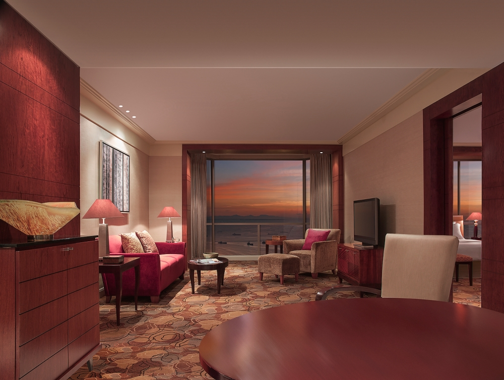 AG New World Manila Bay Hotel - Premier Bayview Suite