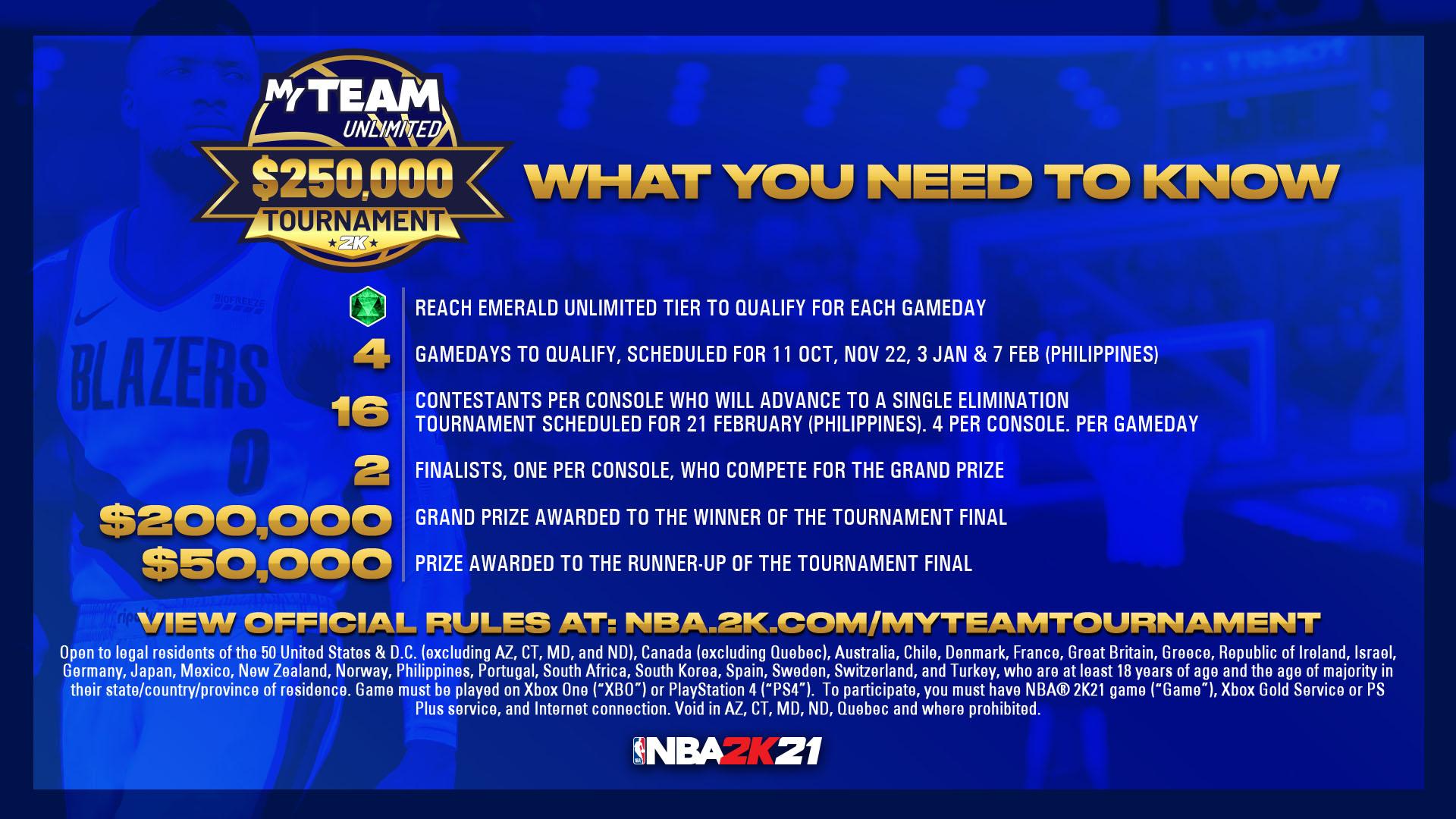 $250,000 Tournament